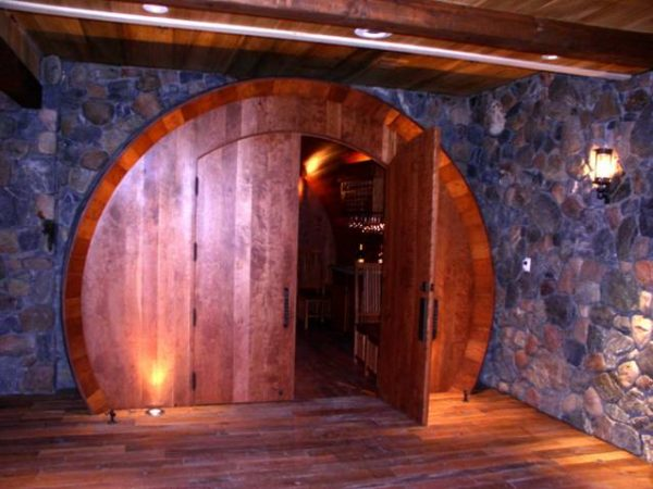 World's Largest Cherry Wood Wine Barrel