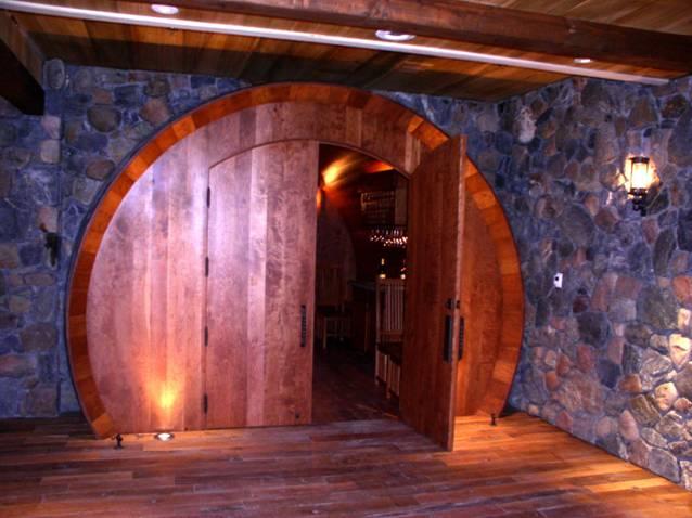 World's Largest Cherry Wood Wine Barrel