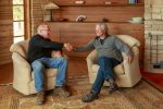 Picture of Steve Crook (R) and homeowner Brian C.