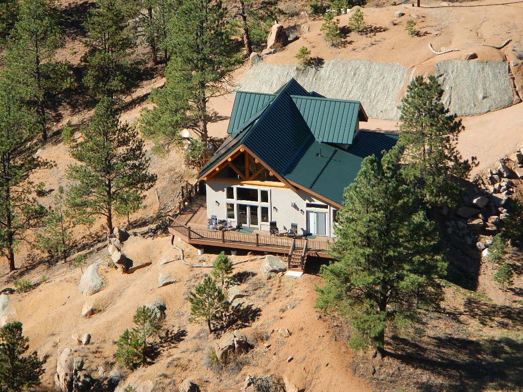 Randy and Sandy's Custom Mountain Home