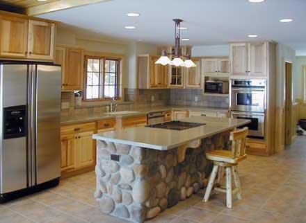 Finished Lake House kitchen
